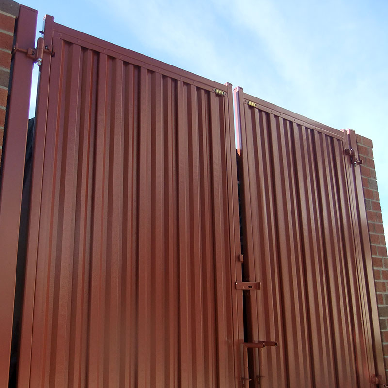 Steel Privacy Panels Metal Privacy Panels Iron Curtain
