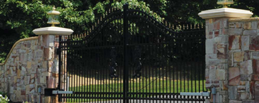 Maverick Residential Iron Fence