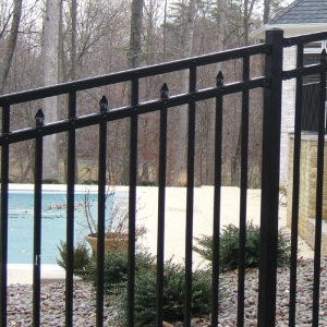 Camden Residential Aluminum Fence Fencing