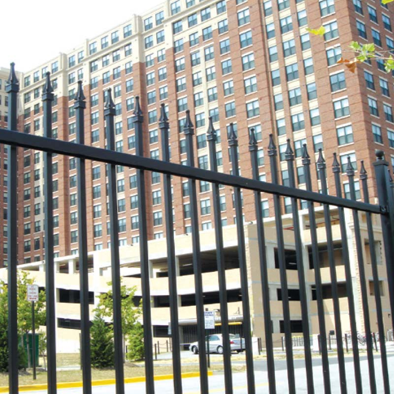 Georgetown Residential Aluminum Fence Fencing