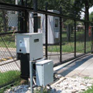 Chain Link Slide Gates