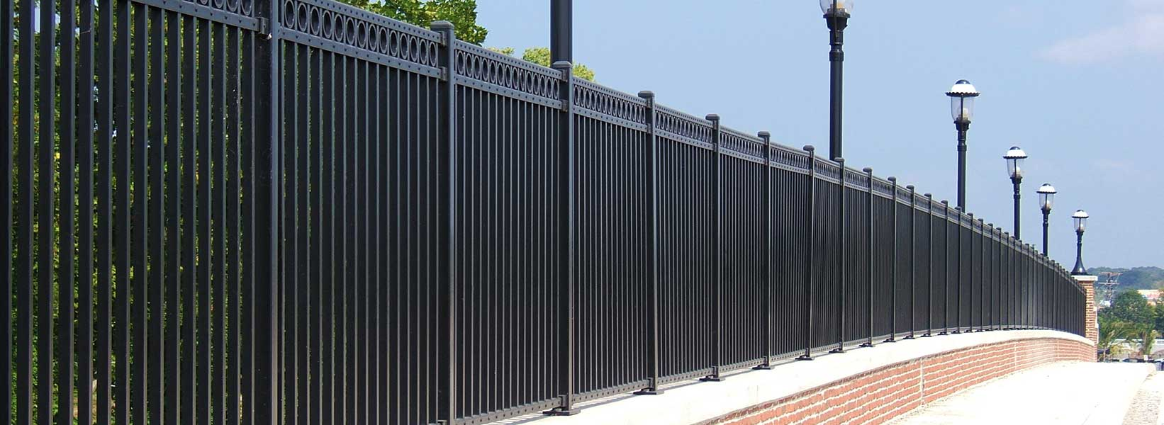 Sl industrial aberdeen iron panels world fencing