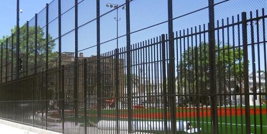 School Stadium Fence