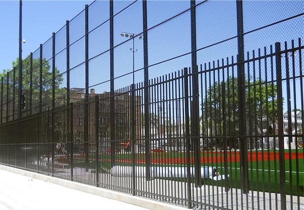 School Stadium Fence