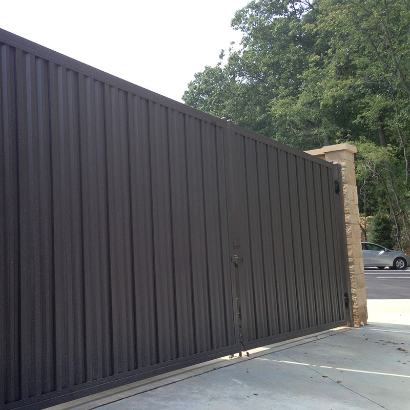 High Security Privacy Panels 3 Iron World Fencing