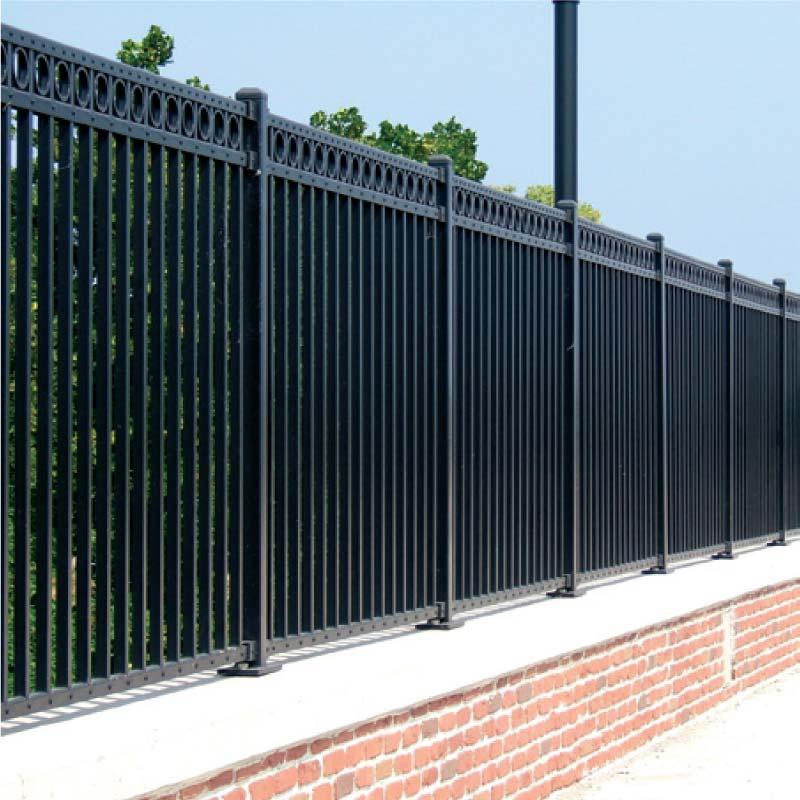 Maverick Industrial Aluminum Fence Fencing Company Iron