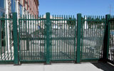 Iron Shield Pipe Fence